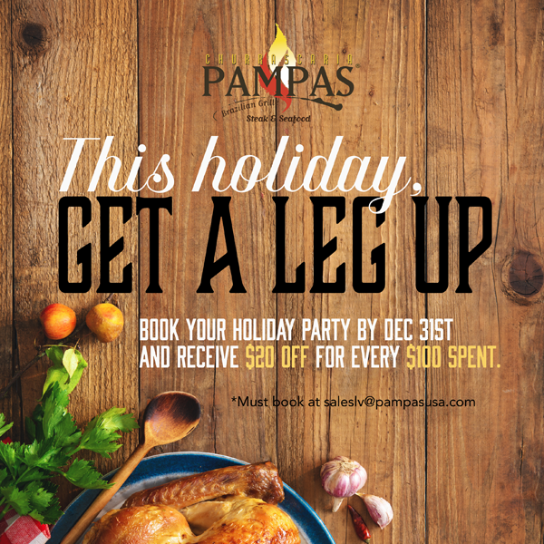 Pampas Churrascaria Brazilian Grille Holiday Party  image