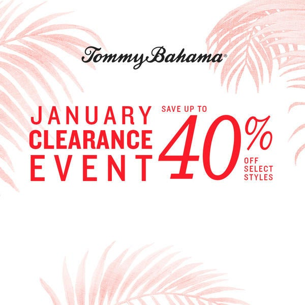 January Clearance Event image