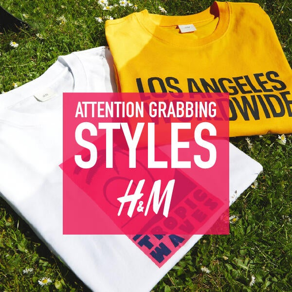 H&M's attention grabbing styles image