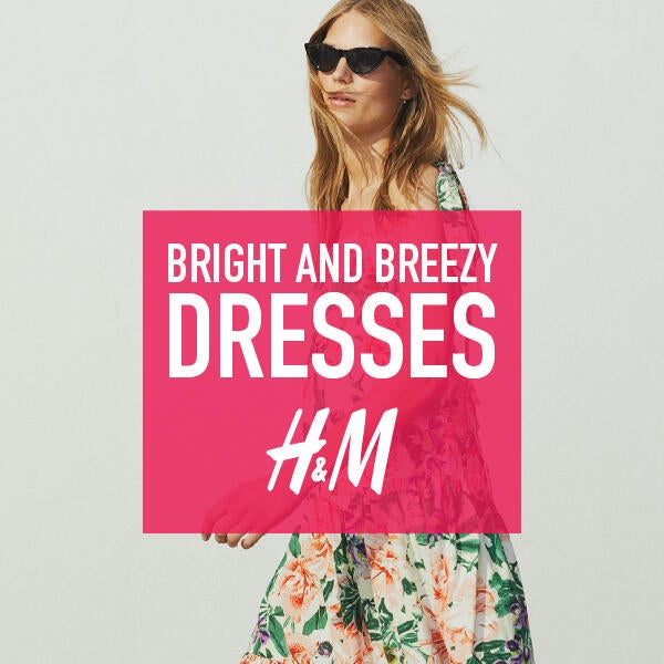 H&M's bright and breezy dresses image