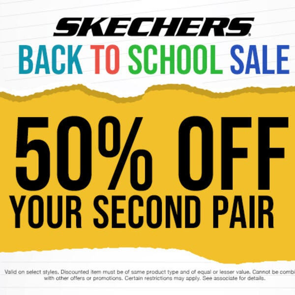 50% Off At Skechers! image