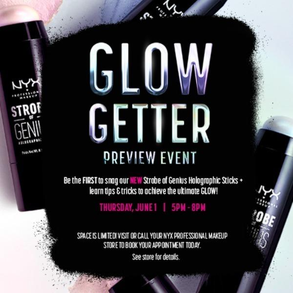 Glow Getter Preview Event image