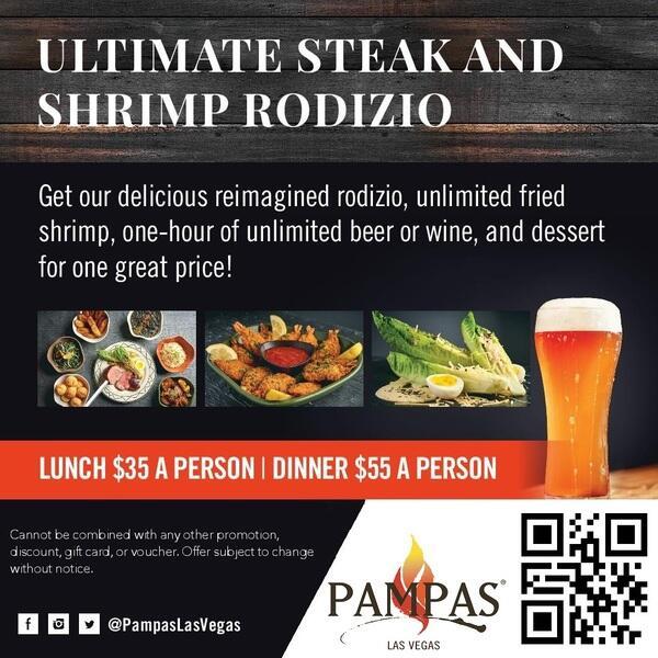 Ultimate Steak and Shrimp Rodizio image