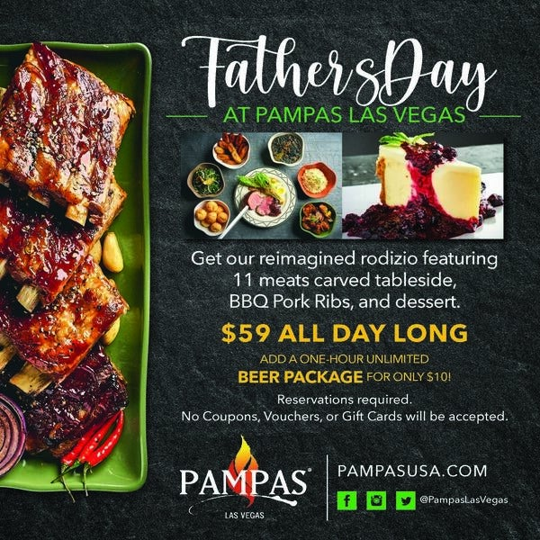 Father's Day at Pampas Las Vegas image