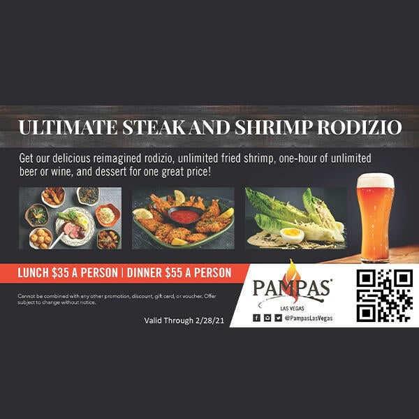 Lunch & Dinner Specials at Pampas Las Vegas image
