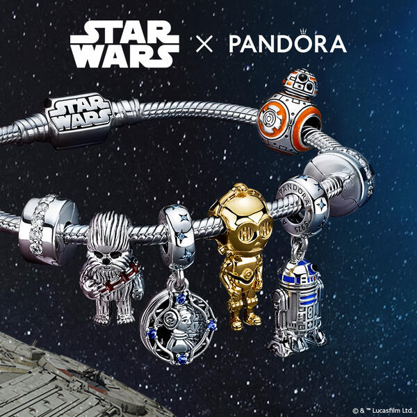 Keep the Force close with #StarWarsxPandora! image