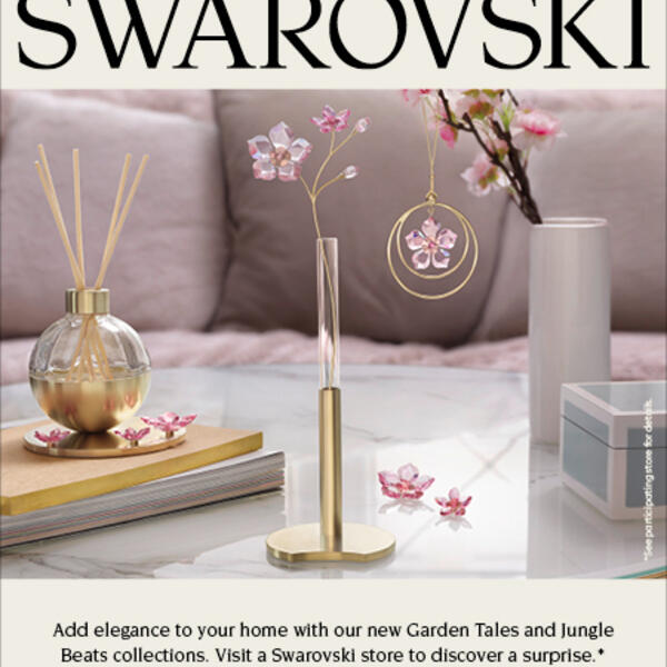 Swarovski Garden Tales & Jungle Beats Collections Event image