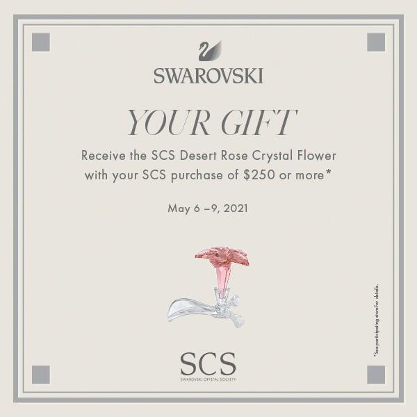 Swarovski Crystal Gift Event image