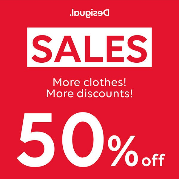50% Off at Desigual image