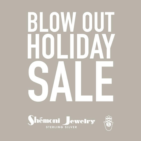 Blow Out Holiday Sale at Shemoni Jewelry Sterling Silver image