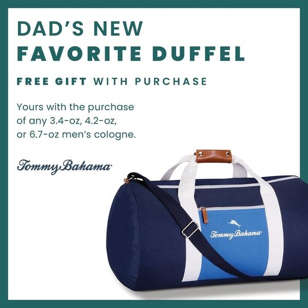 Celebrate Dad with a free duffle bag image