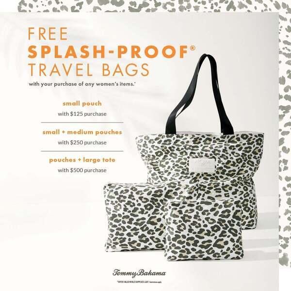 Free Splash-Proof® Travel Bags* image