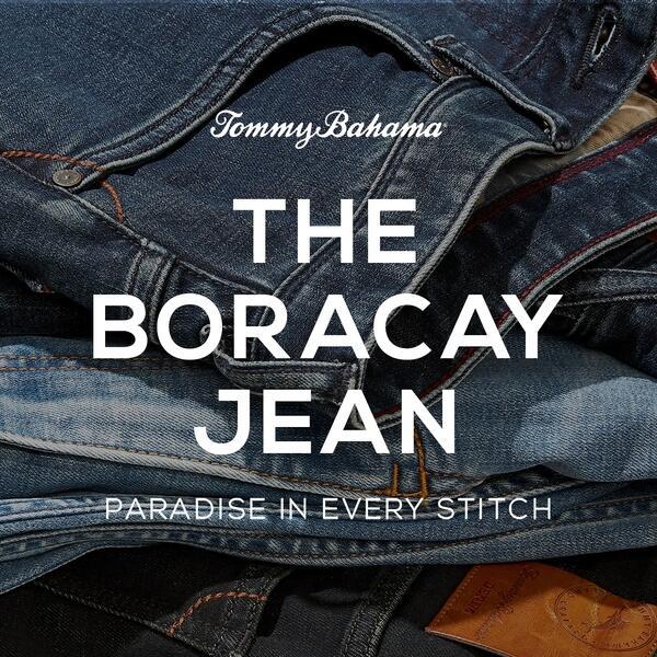 THE BORACAY JEAN at Tommy Bahama! image