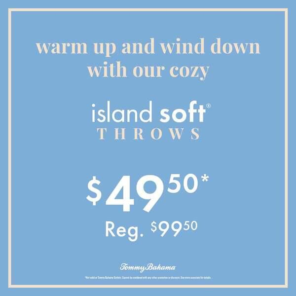 Cozy new throws / limited time price $49.50 image