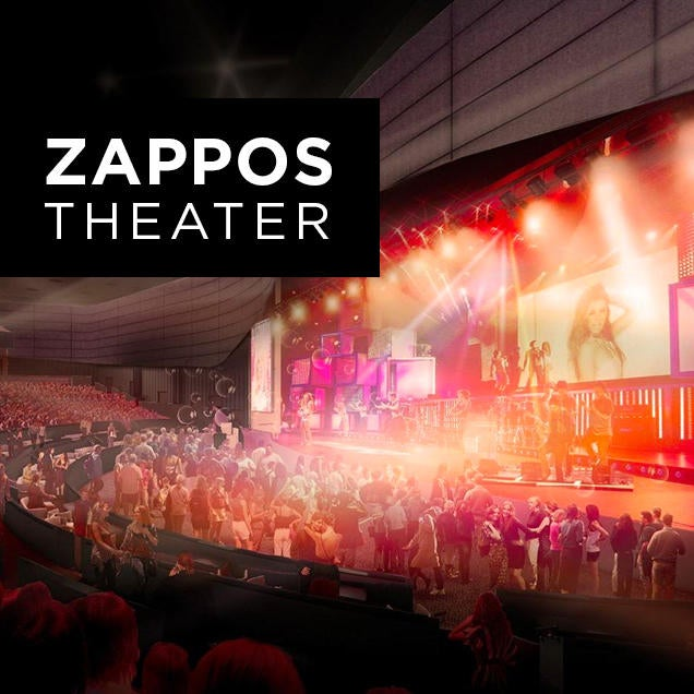 Image result for zappos theater las vegas