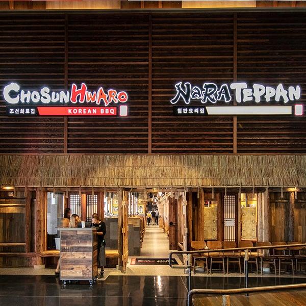 Chosun Hwaro Korean BBQ and Nara Teppan Sushi & Teppanyaki